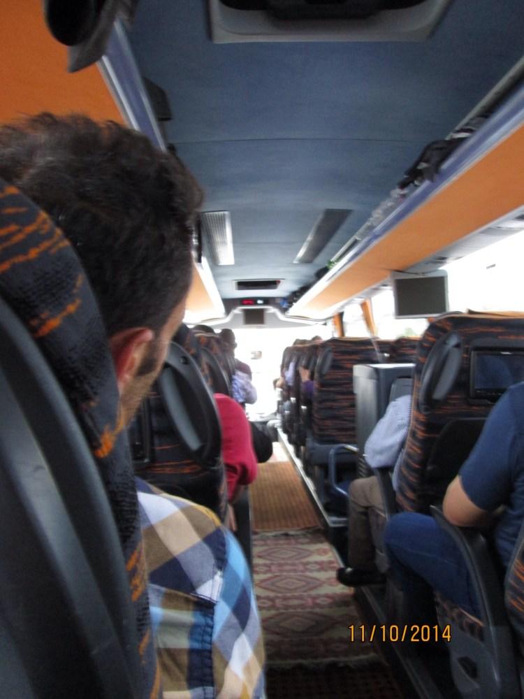 Etelän lämmöstä kohti Istanbulia ja ohikin jo... (3/6)