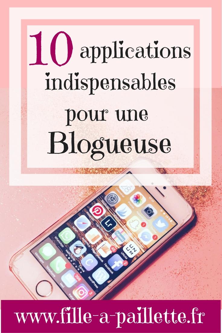 10 applications indispensables pour une blogueuse