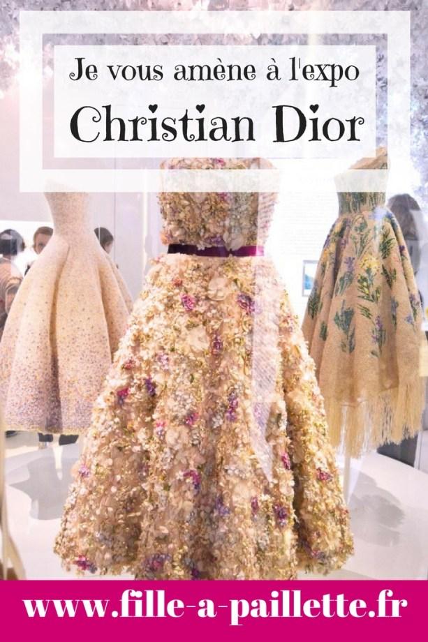 Je vous amène à l'exposition Christian Dior
