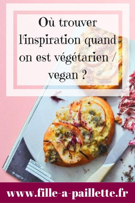je vous présente mes sources d'inspirations de recette veggie / vegan
