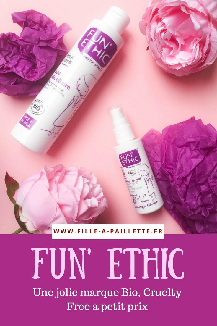 Fun Ethic, une jolie marque bio à petit prix