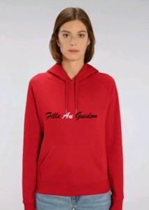 sweat shirt moto femme