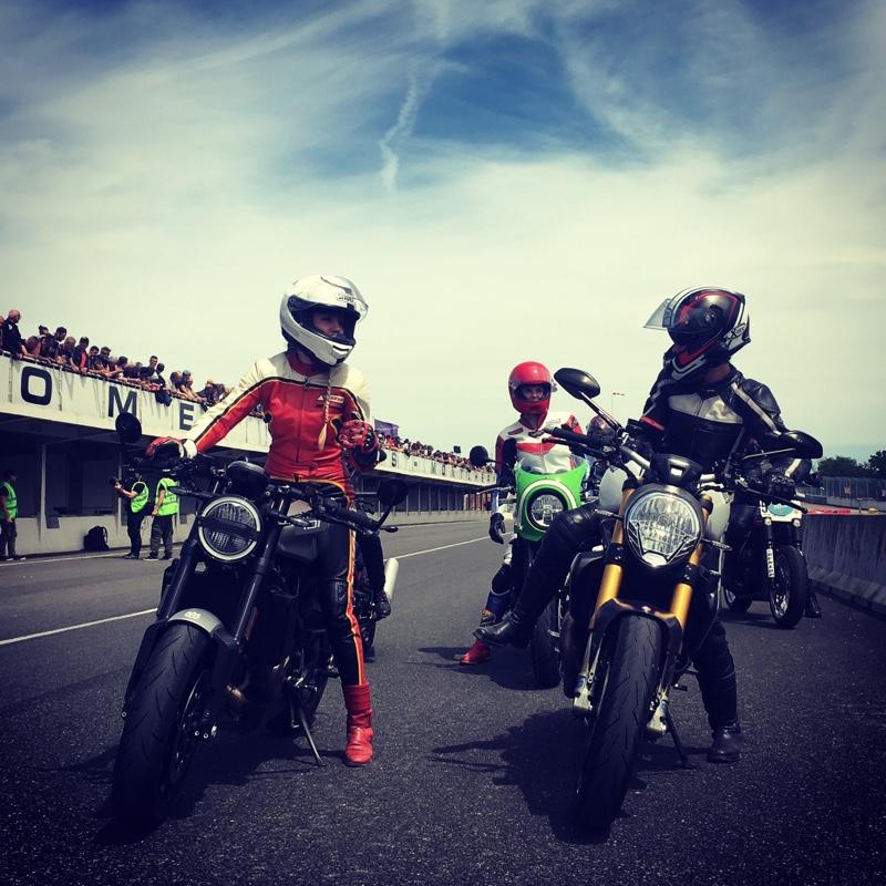 Fille Au Guidon sponsor des femmes en moto