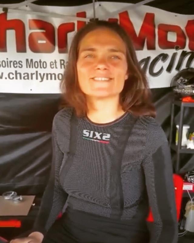 Fille Au Guidon soutient Lydia Truglio Beaumont