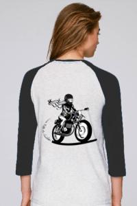 tee shirt moto femme enjoy the ride
