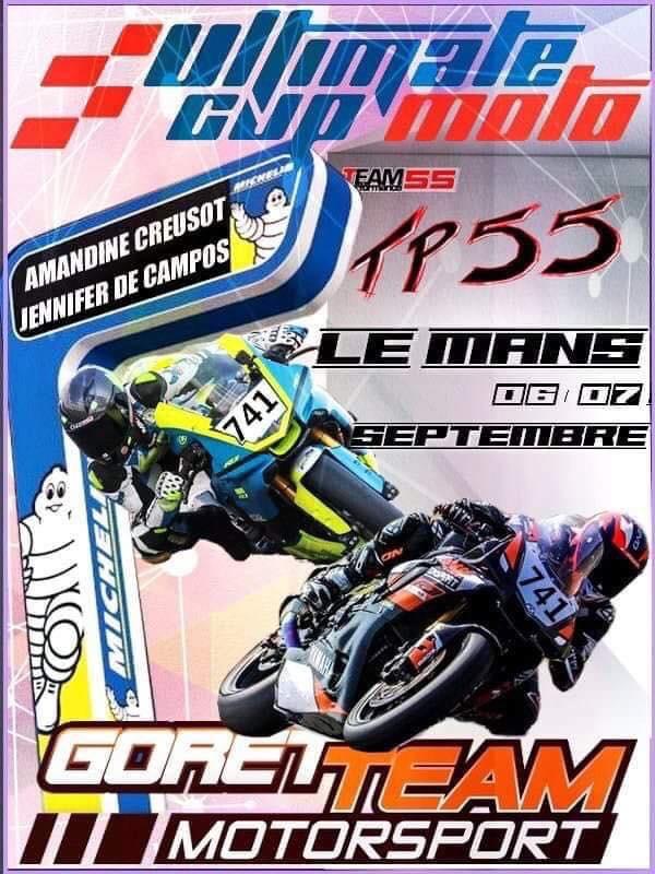 Amandine Creusot participera a la 4ième manche de la coupe de France d'endurance 2019