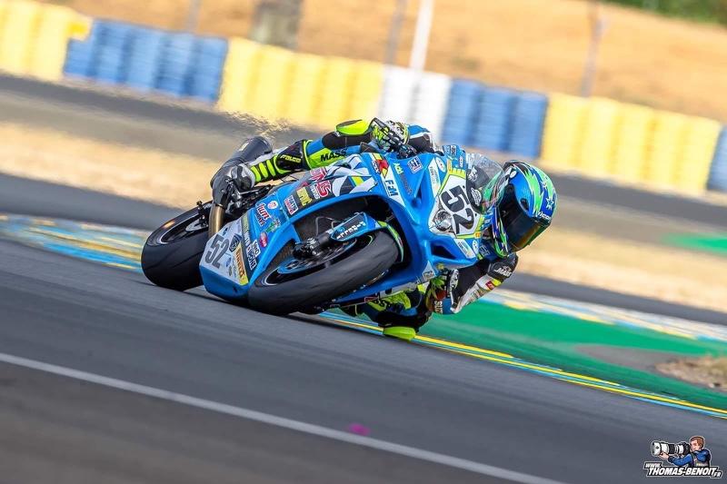 Margaux Wanham est une pilote moto Française engagé en championnat de France