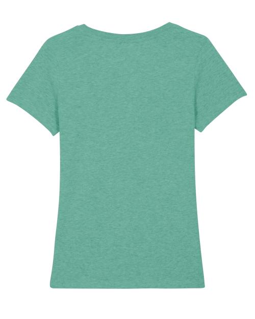 le tee shirt motarde fille au guidon est fait pour les motardes Françaises qui aiment porter des vetements bio et fair trade pour rouler
