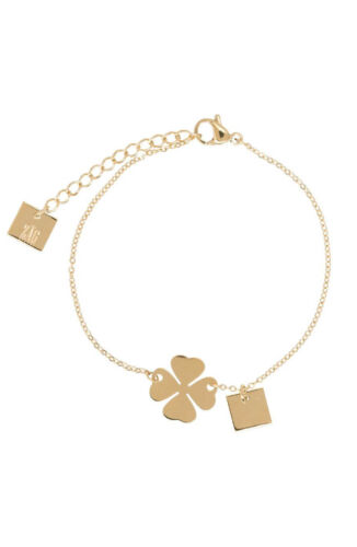 ZAG Bijoux Armband – Klavertje vier Goud