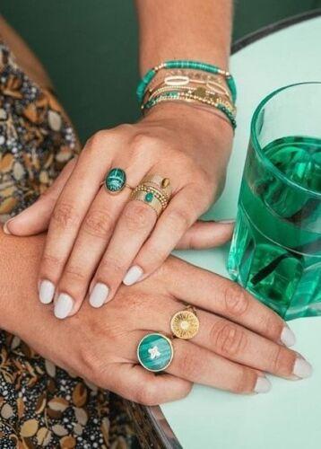 ZAG Bijoux Ring – Tiger Eye Flexibel Goud