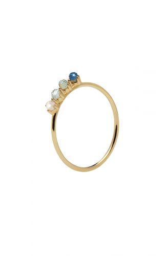 PD Paola Ring – Cobalt Goud
