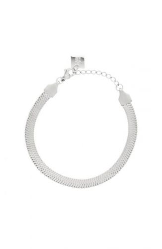 ZAG Bijoux Armband – Slangenpatroon Zilver