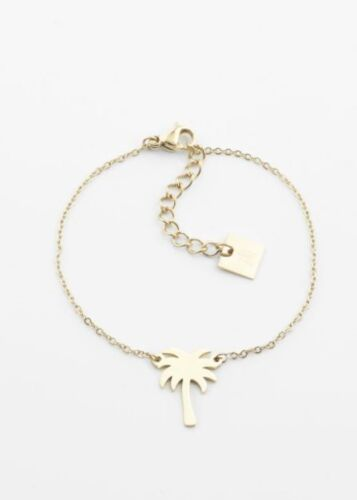 ZAG Bijoux Armband – Palmboom Goud
