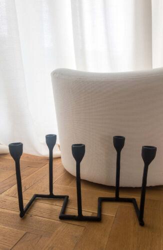 Kandelaar Vijf Kaarsen Zwart