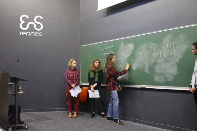 RJM Rennes 2017 filles maths ENS Rennes