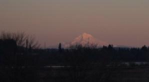 Mt Hood sunset 1-30-15