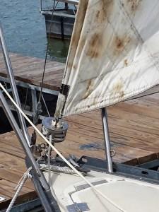 Sail tack