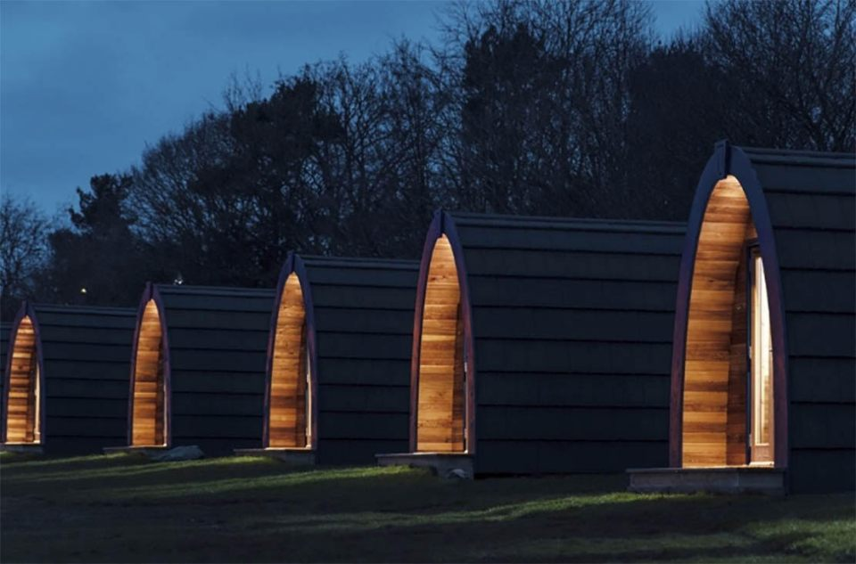 Glamping pods at fillongley hall, warwickshire wedding venue - outdoor wedding venue - country house wedding venue