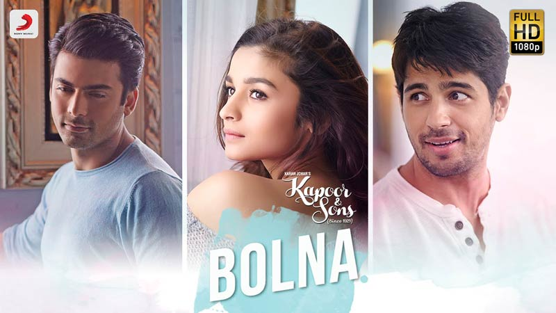 Bolna | New Song | Kapoor & Sons | Arijit Singh | Asees Kaur