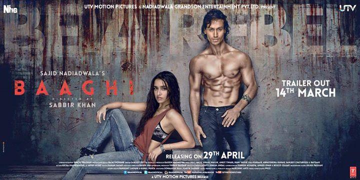 Baaghi – Rebels in love | Movie Trailer