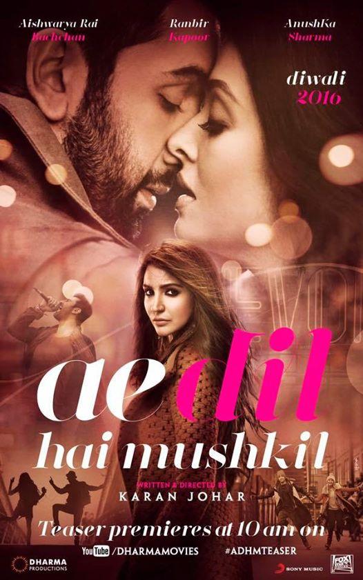 Ae Dil Hai Mushkil | About One Sided Love | Karan Johar | Ranbir Kapoor