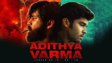 Aditya Varma poster