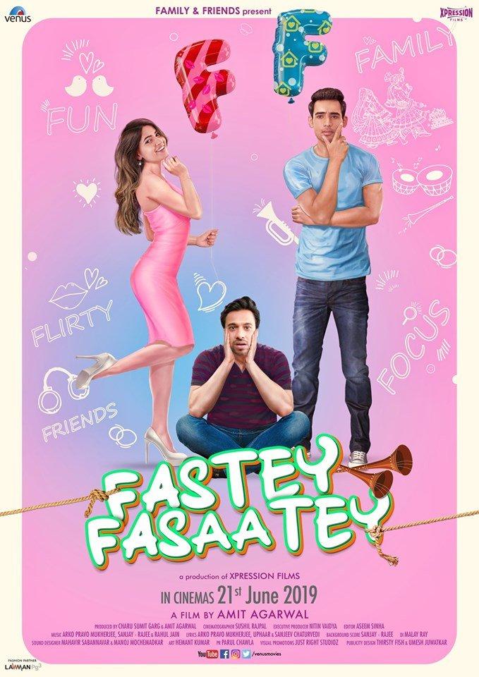 Fastey Fasaatey Official Trailer   Hindi Trailer 2019   Arpit Chaudhary, Karishma Sharma & Nachiket