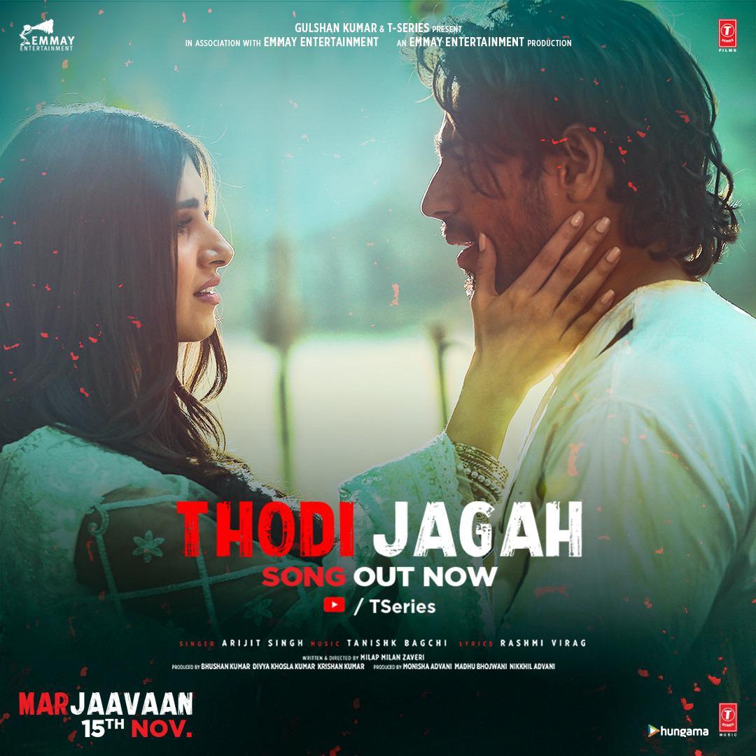 Marjaavaan: Thodi Jagah Video | Riteish D, Sidharth M, Tara S | Arijit Singh | Tanishk Bagchi
