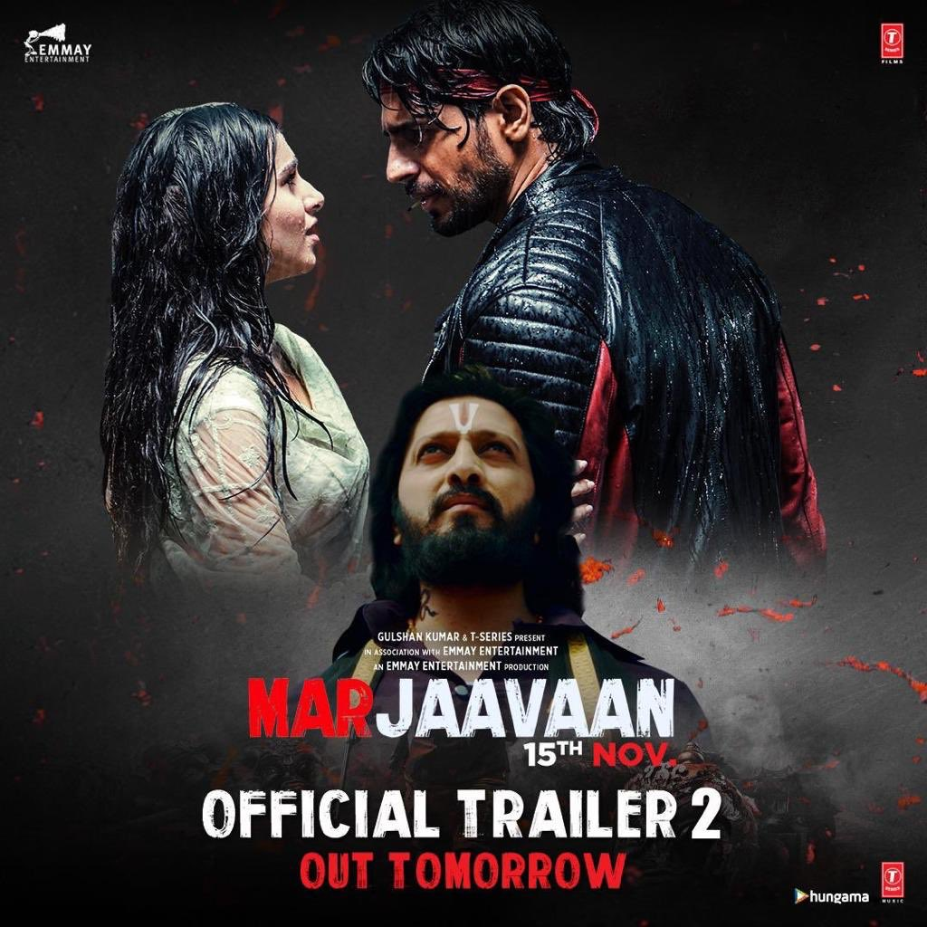Marjaavaan Trailer 2 | Riteish Deshmukh, Sidharth Malhotra,Tara Sutaria, Rakul Preet | Milap Zaveri