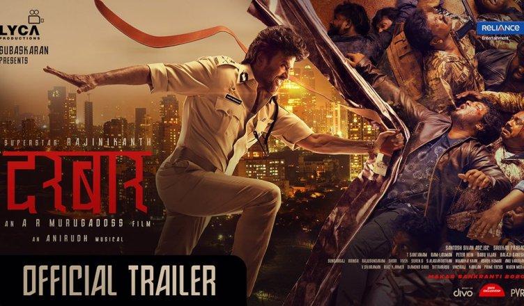 Darbar Hindi Trailer