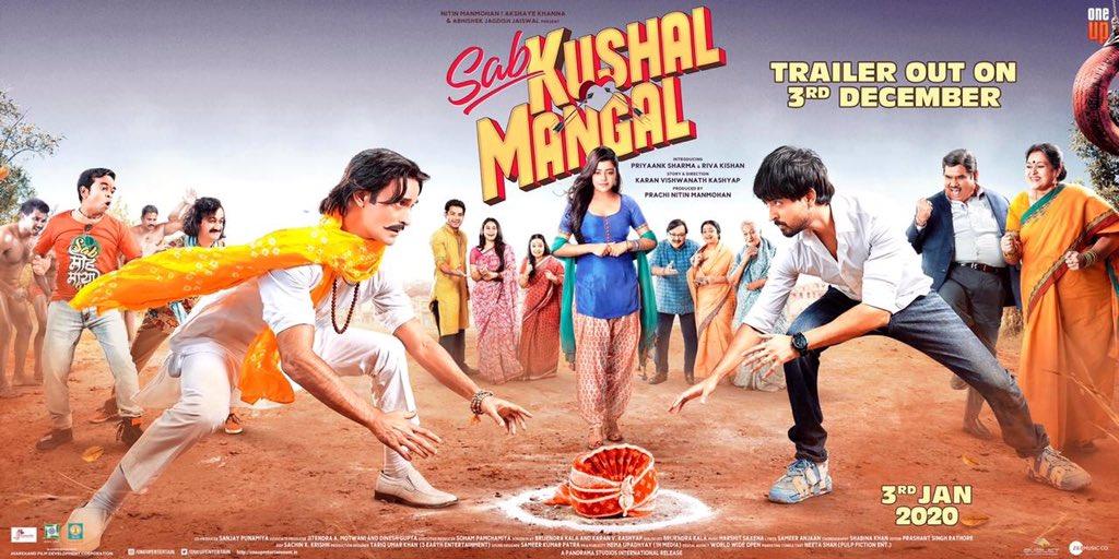Sab Kushal Mangal – Official Trailer | Akshaye Khanna, Priyaank Sharma & Riva Kishan | 3 Jan, 2020