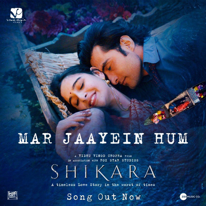 Mar Jaayein Hum – Shikara | Aadil & Sadia| Shradha Mishra & Papon | Sandesh Shandilya | Irshad Kamil