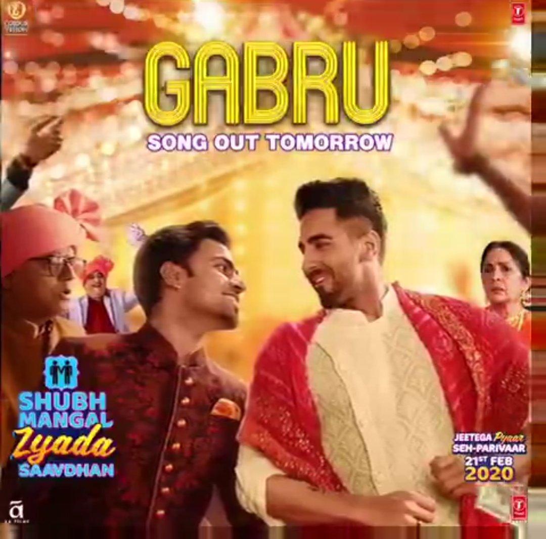 Gabru: Shubh Mangal Zyada Saavdhan | Ayushmann Khurrana, Jitu K | Yo Yo Honey Singh | Tanishk B,Romy