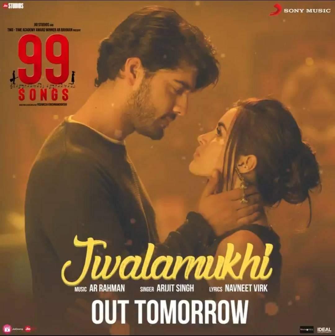 Jwalamukhi – Official Music Video | 99 Songs | A.R.Rahman | Arijit Singh