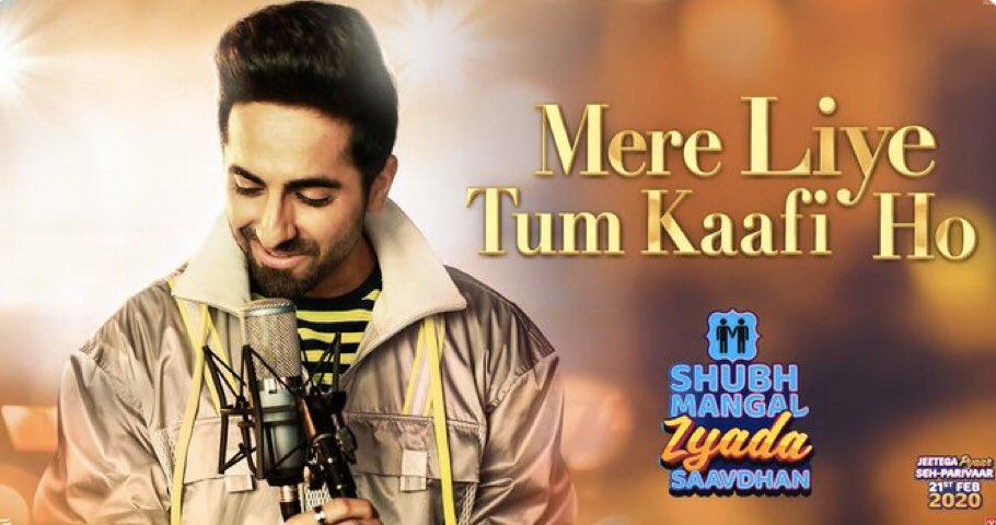 Mere Liye Tum Kaafi Ho Song | Shubh Mangal Zyada Saavdhan | Ayushman Khurana,Jeetu | Tanishk – Vayu