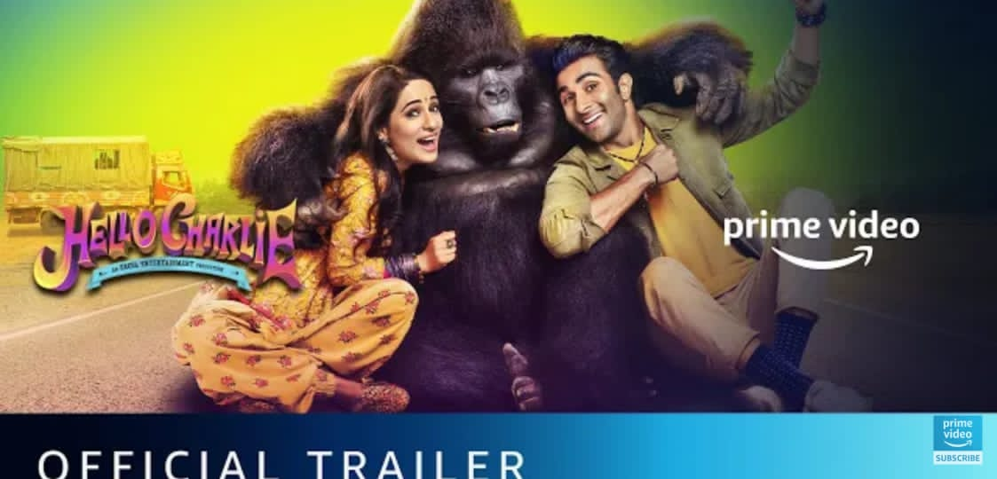 Hello Charlie – Official Trailer | Aadar Jain, Jackie Shroff, Shlokka Pandit, Elnaaz Norouzi