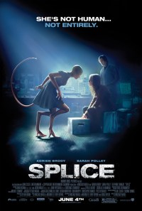 Splice Poster, Sarah Polley, Adrien Brody
