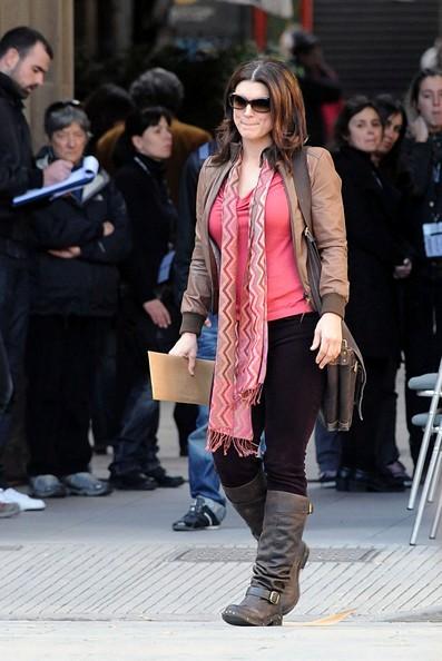 Gina Carano Haywire 2011 Set Photos 7
