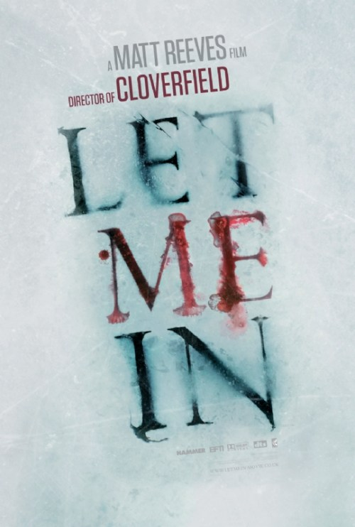 Let Me In, UK Movie Poster