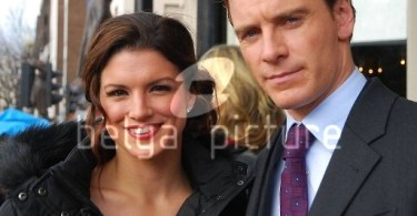 Michael Fassbender Gina Carano Haywire 2011 Set Photos 6