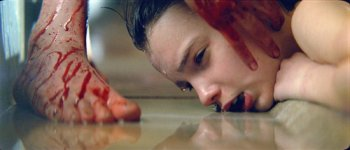 Kodi Smit-McPhee, Let Me In, bloody foot pool