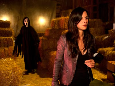Scream 4, Courteney Cox, Ghost Face