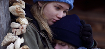 Jennifer Lawrence, Winter's Bone, Blu-ray Contest Header
