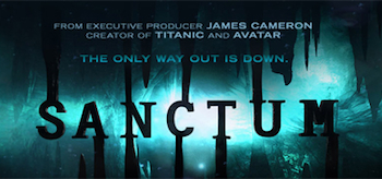 Sanctum 2011, Movie Trailer Header