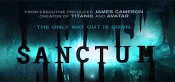 Sanctum 2011, Movie Trailer Header