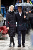 X-Men: First Class Set Photos James Mcavoy Jennifer Lawrence 02