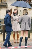 X-Men: First Class Set Photos James Mcavoy Jennifer Lawrence Rose Bryne 01