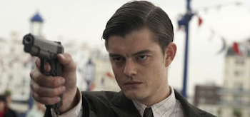 Brighton Rock, 2010, Sam Riley, Holding Gun