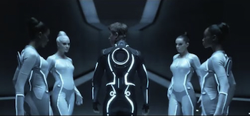 Garrett Hedlund, Beau Garett, Tron Legacy, Movie Trailer 3, header
