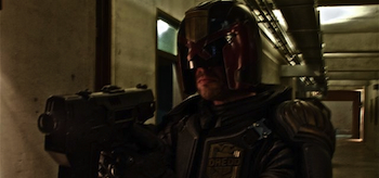 Karl Urban, Dredd, 2012, First Photo, header